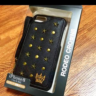 ロデオクラウンズワイドボウル(RODEO CROWNS WIDE BOWL)の新品!RodeoCrowns♡iPhoneケース♡(iPhoneケース)