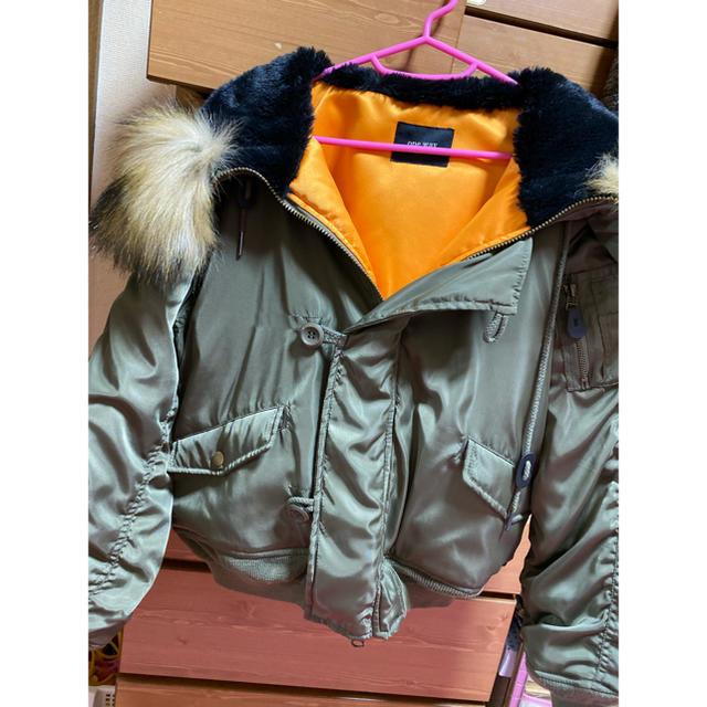 one*way(ワンウェイ)の【値下げ】one way  N2B レディースのジャケット/アウター(ブルゾン)の商品写真