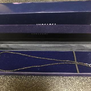 ジュエリーツツミ(JEWELRY TSUTSUMI)のブラックダイヤモンドネックレス(ネックレス)