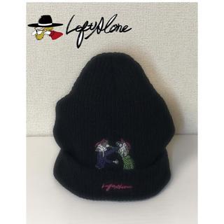 ステューシー(STUSSY)の【新品・限定】LEFT ALONE レフトアローン ニット帽(ニット帽/ビーニー)