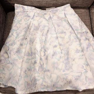 ティティアンドコー(titty&co)のtitty&co. 3Dフラワースカート 未使用 新品 タグ付き(ミニスカート)