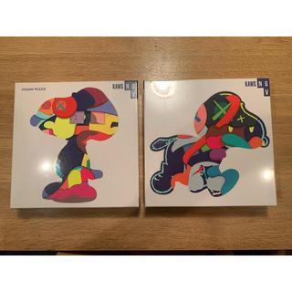 送料込み 即発送 2種セット kaws カウズ パズル puzzle スヌーピー(絵画/タペストリー)