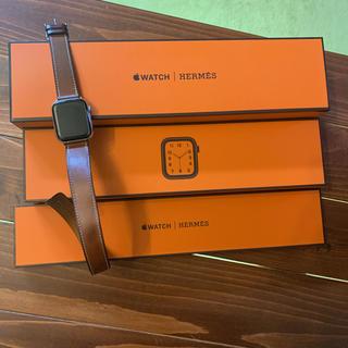 エルメス(Hermes)のApple Watch Series 4 エルメス 40mm(2年保証あり)(腕時計(デジタル))