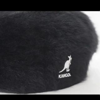 カンゴール(KANGOL)のM ) 未使用 KANGOL カンゴール FURGORA ハンチング ブラック(ハンチング/ベレー帽)