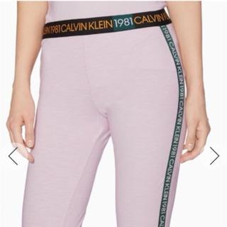 限定商品 Calvin Klein レギンス ピンク
