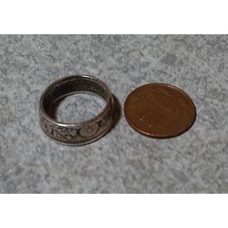 旭日50銭リング(リング(指輪))