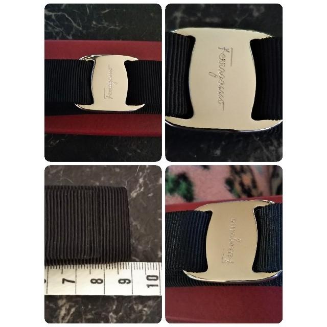 Salvatore Ferragamo(サルヴァトーレフェラガモ)のサルヴァトーレフェラガモ ヴァラ リボン バレッタ ヘアアクセサリー  レディースのヘアアクセサリー(バレッタ/ヘアクリップ)の商品写真