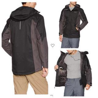 アンダーアーマー(UNDER ARMOUR)のM 新品アンダーアーマー エマージェントジャケット アウトドアジャケット 冬(ウエア)