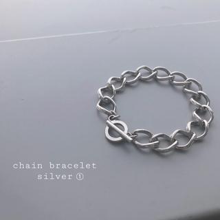 TOGA - 再入荷 chain bracelet silver ①