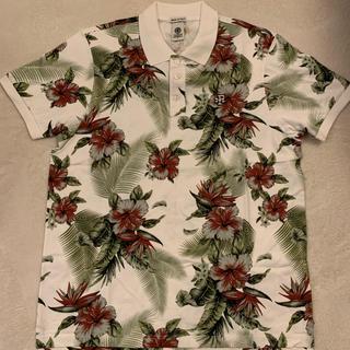 フランクリンアンドマーシャル(FRANKLIN&MARSHALL)の【フランクリン】花柄ポロシャツ【新品】(ポロシャツ)