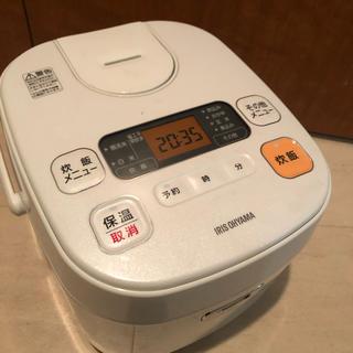 アイリスオーヤマ - アイリスオーヤマ 炊飯器 5.5合 ERC-MA50-W
