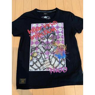 グラム(glamb)のジョジョ × glamb コラボTシャツ フーゴ 黒 Lサイズ(Tシャツ/カットソー(半袖/袖なし))
