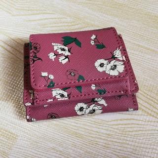 レガートラルゴ(Legato Largo)の本日限定お値下げ レガートラルゴ 三つ折り財布 ピンク 花柄(財布)