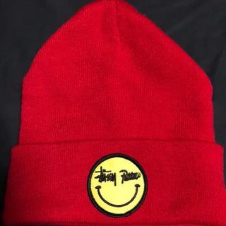 ステューシー(STUSSY)のstussy x patta knit beanie ニット帽 ビーニー(ニット帽/ビーニー)