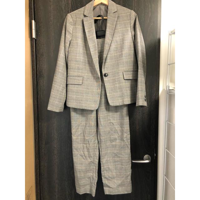 GU(ジーユー)のチェック スーツ セットアップ GU Lサイズ レディースのレディース その他(セット/コーデ)の商品写真