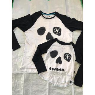 ハーレー(Hurley)のhurley  ハーレー  ロンT 親子セット メンズ ミディアム 子供110(Tシャツ/カットソー(七分/長袖))