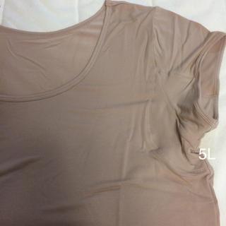 セシール(cecile)の大きいサイズ  スマートドライ  フレンチ袖(Tシャツ(半袖/袖なし))