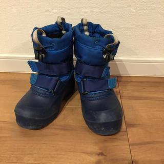 モンベル(mont bell)のmont-bell モンベル スノーブーツ サイズ17 ブルー(ブーツ)