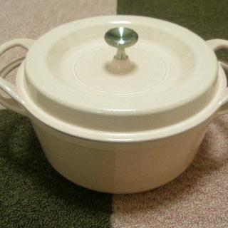 バーミキュラ(Vermicular)のバーミキュラ パールピンク22センチ鍋(鍋/フライパン)
