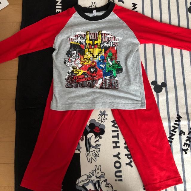 BANDAI(バンダイ)のジュウオウジャー パジャマ  キッズ/ベビー/マタニティのキッズ服男の子用(90cm~)(パジャマ)の商品写真