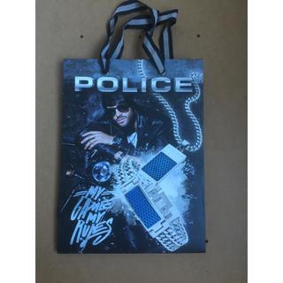 ポリス(POLICE)のPOLICE ショッピング 紙袋 新品(ショップ袋)