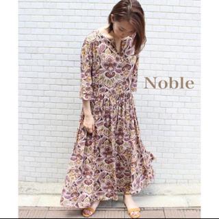 スピックアンドスパンノーブル(Spick and Span Noble)のNOBLE♡マキシワンピース(ロングワンピース/マキシワンピース)