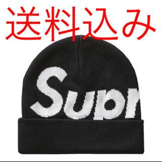シュプリーム(Supreme)の【一番人気】SUPREME  ビックロゴ ビーニー (ニット帽/ビーニー)