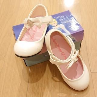 ディズニー(Disney)の靴 ホワイト ディズニー(ローファー/革靴)