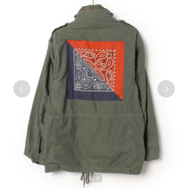 APPLEBUM(アップルバム)のアップルバム ミリタリージャケット バンダナ メンズのジャケット/アウター(ミリタリージャケット)の商品写真