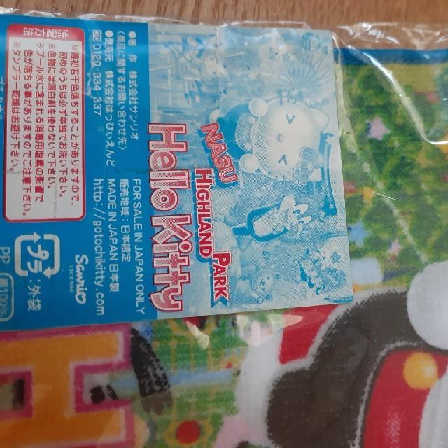 サンリオ(サンリオ)の新品未使用 キティちゃんハンドタオル レディースのファッション小物(ハンカチ)の商品写真