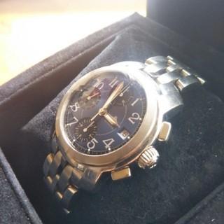 ボームエメルシエ(BAUME&MERCIER)のボーム&メルシエ BAUME & MERCIER ケープランド ネイビー文字盤(腕時計(アナログ))