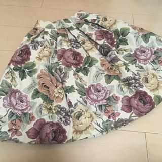 ヴィクトリアンメイデン(Victorian maiden)のメアリーマグダレン ゴブラン織りスカート(ひざ丈スカート)