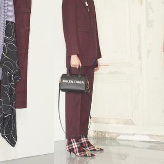 バレンシアガ(Balenciaga)の新品 Balenciaga バレンシアガ ブーツ チェック 39 18プレ(ブーツ)