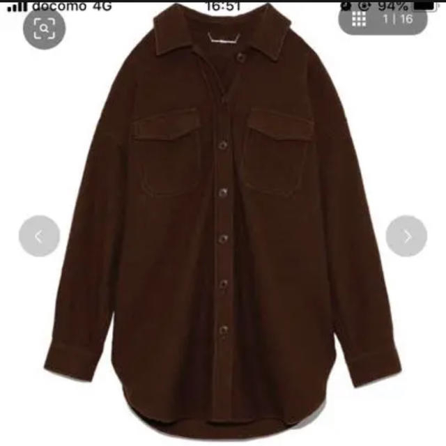 Mila Owen(ミラオーウェン)のミラオーウェン  圧縮ジャージカバーオール ブラウン レディースのジャケット/アウター(その他)の商品写真