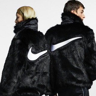 アンブッシュ(AMBUSH)のアンブッシュ ambush Nike faux fur ジャケット コート(毛皮/ファーコート)