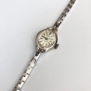 オリエント(ORIENT)のOrient  Almond  Blue white 21石レディース手巻き時計(腕時計)