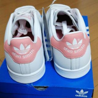 アディダス(adidas)の新品 未使用 アディダスオリジナルス スタンスミス  ピンク 25(スニーカー)