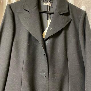 ミュウミュウ(miumiu)のミュウミュウ、ブラックジャケット、就活(テーラードジャケット)