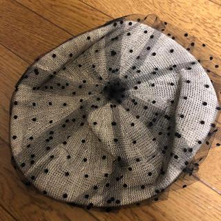 カオリノモリ(カオリノモリ)のカオリノモリ キャセリーニ レースベレー帽(ハンチング/ベレー帽)