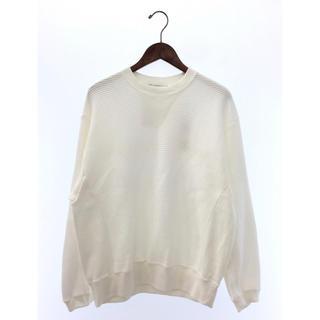 ジエダ(Jieda)のJieDa CUT OFF THERMAL L/S ホワイト サイズ0(Tシャツ/カットソー(七分/長袖))