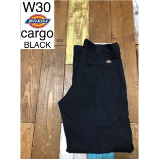 ディッキーズ(Dickies)の30029 アメリカ 輸入 ディッキーズ カーゴ ブラック  W30(ワークパンツ/カーゴパンツ)