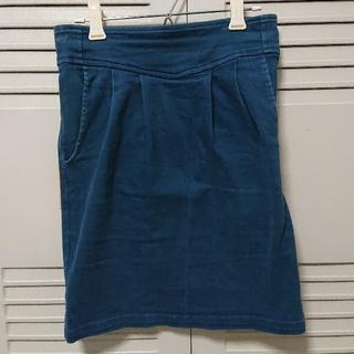 タイトスカート くすみカラー Sサイズ(ミニスカート)