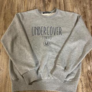 アンダーカバー(UNDERCOVER)のアンダーカバー スウェット グレー Sサイズ(スウェット)