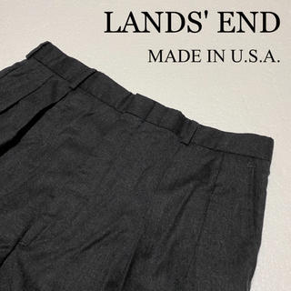 ランズエンド(LANDS'END)の❤️送料込❤️LANDS'END ウールパンツ スラックス(スラックス)