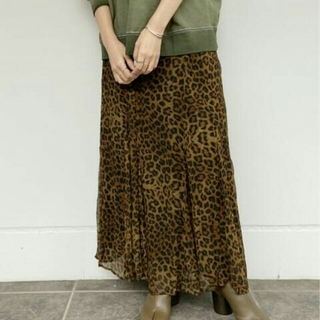プラージュ(Plage)の★プラージュ★ レオパード スカート(ロングスカート)