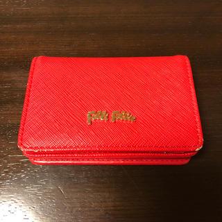 フォリフォリ(Folli Follie)のfollifollie カードケース ミニ財布(コインケース)