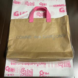 コムデギャルソン(COMME des GARCONS)のPVC トートバッグ 渋谷パルコ限定 CDG GIRL ギャルソン(その他)