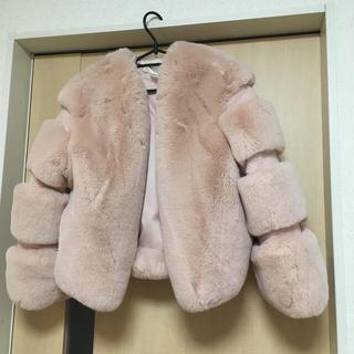 ダブルスタンダードクロージング(DOUBLE STANDARD CLOTHING)のフェイクファージャケット(毛皮/ファーコート)