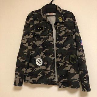 BROWNY - WEGO 迷彩ジャケット