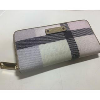 バーバリーブルーレーベル(BURBERRY BLUE LABEL)のブルーレーベルクレストブリッジ  財布(財布)